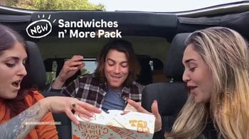 Popeyes Sandwiches n' More Pack TV Spot, 'Shook' - Thumbnail 4