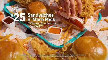 Popeyes Sandwiches n' More Pack TV Spot, 'Shook' - Thumbnail 5