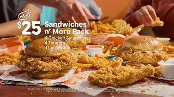 Popeyes Sandwiches n' More Pack TV Spot, 'Shook' - Thumbnail 6