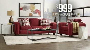Rooms to Go  Memorial Day Sale TV Spot, 'Save Big on Cozy Living Rooms: $999' - Thumbnail 7
