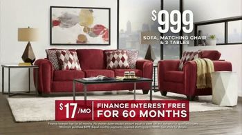 Rooms to Go  Memorial Day Sale TV Spot, 'Save Big on Cozy Living Rooms: $999' - Thumbnail 8