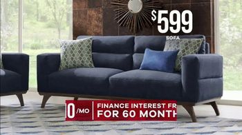Rooms to Go Memorial Day Sale TV Spot, 'Broadview Park Living Room: $1,599' - Thumbnail 4