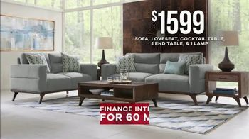 Rooms to Go Memorial Day Sale TV Spot, 'Broadview Park Living Room: $1,599' - Thumbnail 6