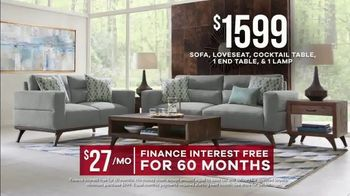 Rooms to Go Memorial Day Sale TV Spot, 'Broadview Park Living Room: $1,599' - Thumbnail 7