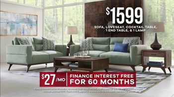 Rooms to Go Memorial Day Sale TV Spot, 'Broadview Park Living Room: $1,599' - Thumbnail 8