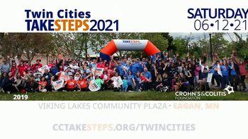 Crohn's & Colitis Foundation of America TV Spot, '2021 Twin Cities Take Steps' - Thumbnail 2