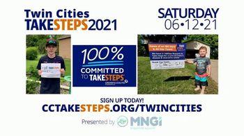Crohn's & Colitis Foundation of America TV Spot, '2021 Twin Cities Take Steps' - Thumbnail 4
