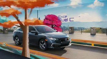 2021 Honda Civic TV Spot, 'Fun and Sporty: Responsive Performance' [T1]