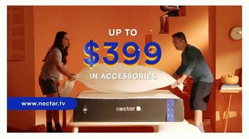 NECTAR Sleep Summer Time Snooze Memorial Day Sale TV Spot, 'Up to $399 in Accessories'