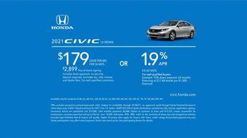 2021 Honda Civic TV Spot, 'Now's Your Chance' [T2] - Thumbnail 9