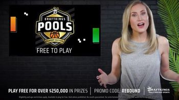 DraftKings Daily Fantasy Sports TV Spot, 'Free to Play Pools: Playoff Edition'