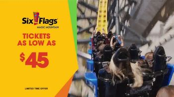 Six Flags Magic Mountain TV Spot, 'West Coast Racers: Tickets as Low as $45' - Thumbnail 9