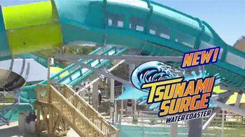 Six Flags Hurricane Harbor TV Spot, 'Tsunami Surge: Tickets as Low as $24.99'