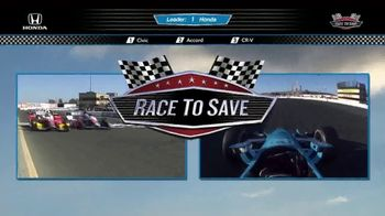 Honda Race to Save Event TV Spot, 'Memorial Day: Start Your Engines' [T2] - Thumbnail 2