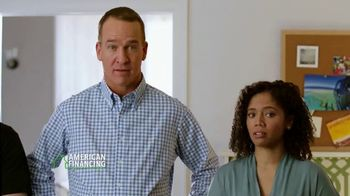 American Financing TV Spot, 'Roommate' Featuring Peyton Manning