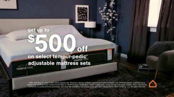 Ashley HomeStore Memorial Day Sale TV Spot, '$500 Off Tempur-Pedic' - Thumbnail 3