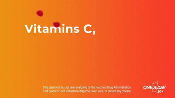 One A Day 50+ Multivitamin Gummies TV Spot, 'Immunity and Brain Support' - Thumbnail 4