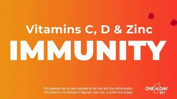 One A Day 50+ Multivitamin Gummies TV Spot, 'Immunity and Brain Support' - Thumbnail 5