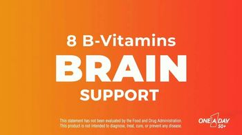 One A Day 50+ Multivitamin Gummies TV Spot, 'Immunity and Brain Support' - Thumbnail 8