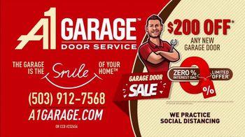 A1 Garage Door Service Garage Door Sale TV Spot, 'Smile: 0% Interest + $200' - Thumbnail 9
