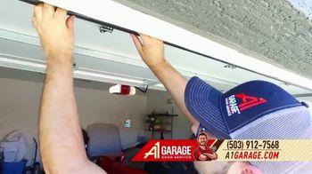 A1 Garage Door Service Garage Door Sale TV Spot, 'Smile: 0% Interest + $200' - Thumbnail 8