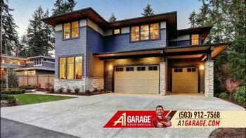 A1 Garage Door Service Garage Door Sale TV Spot, 'Smile: 0% Interest + $200'