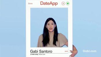 Gabi Personal Insurance Agency TV Spot, 'Dating App'