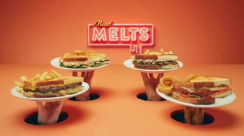 Denny's Melts TV Spot, 'Grilled to Please: Free Delivery'
