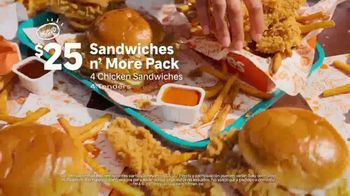 Popeyes Sandwiches n' More Pack TV Spot, 'Xicalegaspy' [Spanish] - Thumbnail 4