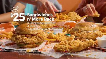 Popeyes Sandwiches n' More Pack TV Spot, 'Xicalegaspy' [Spanish] - Thumbnail 5