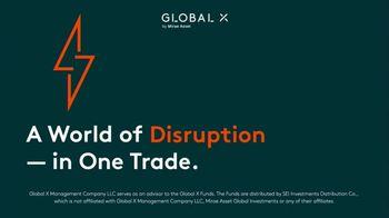 Global X Funds TV Spot, 'Beyond Ordinary ETFs'