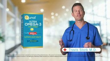 Qunol Ultra Omega-3 TV Spot, 'Heart Health' Featuring Travis Stork - Thumbnail 2
