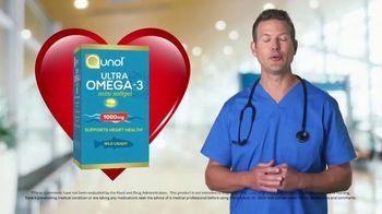 Qunol Ultra Omega-3 TV Spot, 'Heart Health' Featuring Travis Stork - Thumbnail 4