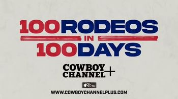 Cowboy Channel Plus TV Spot, '100 Rodeos in 100 Days: Around the Country'