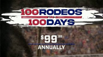 Cowboy Channel Plus TV Spot, '100 Rodeos in 100 Days: $99'
