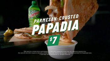 Papa John's Parmesan Crusted Papadia TV Spot, 'Pizza Night'