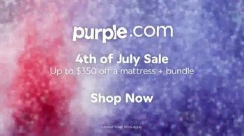 Purple Mattress 4th of July Sale TV Spot, 'The Most Innovative Mattresses Made in America: $350 Off' - Thumbnail 9