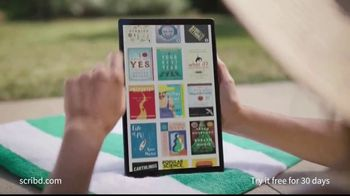 Scribd TV Spot, 'Staycation or Vacation' - Thumbnail 2