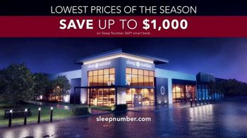 Sleep Number Lowest Prices of the Season TV Spot, 'Dad-Powering: Save $1,000' - Thumbnail 8