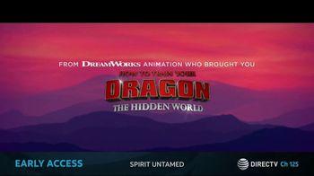 DIRECTV Cinema TV Spot, 'Spirit Untamed' Song by Taylor Swift - Thumbnail 2
