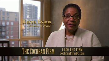 The Cochran Law Firm TV Spot, 'First Question' - Thumbnail 1