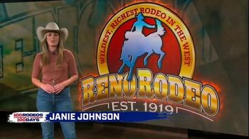 Cowboy Channel Plus TV Spot, '100 Rodeos in 100 Days: Janie on the Reno Rodeo'