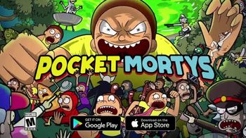 Pocket Mortys TV Spot, 'Wine Morty, Mr. Nimbus and Gardener Morty' - Thumbnail 7