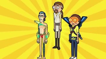 Pocket Mortys TV Spot, 'Wine Morty, Mr. Nimbus and Gardener Morty' - Thumbnail 4