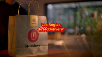 McDonald's McDelivery TV Spot, 'Grubhub: Chicken Sandwich gratis' [Spanish]