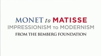 Museum of Fine Arts, Houston TV Spot, 'Monet to Matisse: Impressionism to Modernism' - Thumbnail 2