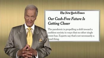 Swiss America TV Spot, 'Cash-Free Future' Featuring Pat Boone - Thumbnail 1