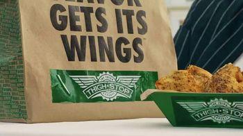 Wingstop TV Spot, 'Thighstop Thigh Boss' Featuring Rick Ross - Thumbnail 7
