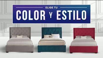 Rooms to Go Increíbles Ofertas del 4 de Julio TV Spot, 'Camas tapizadas' [Spanish] - Thumbnail 7