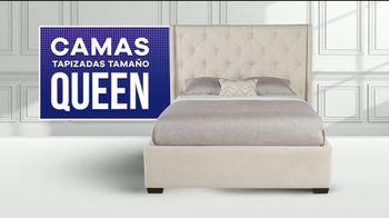 Rooms to Go Increíbles Ofertas del 4 de Julio TV Spot, 'Camas tapizadas' [Spanish] - Thumbnail 5